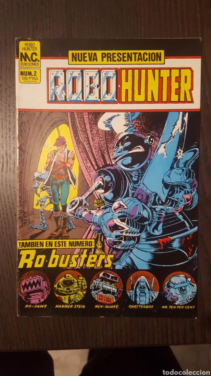 Cómics: Comics - Robo Hunter - ZINCO - 1984 (5 CÓMICS) - Cazador de robots - 1986 (9 números) - MC Ediciones - Foto 8 - 222040162