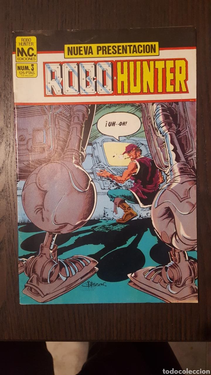 Cómics: Comics - Robo Hunter - ZINCO - 1984 (5 CÓMICS) - Cazador de robots - 1986 (9 números) - MC Ediciones - Foto 9 - 222040162