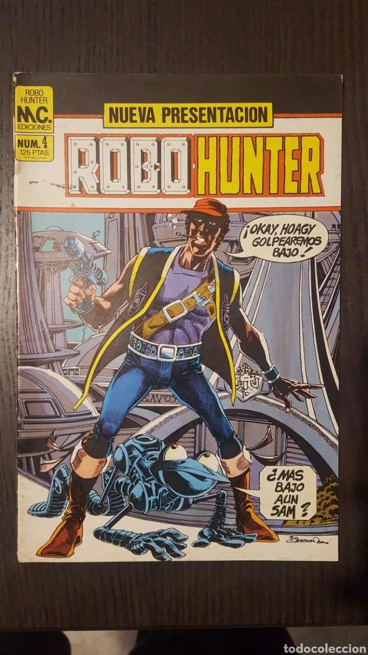 Cómics: Comics - Robo Hunter - ZINCO - 1984 (5 CÓMICS) - Cazador de robots - 1986 (9 números) - MC Ediciones - Foto 10 - 222040162