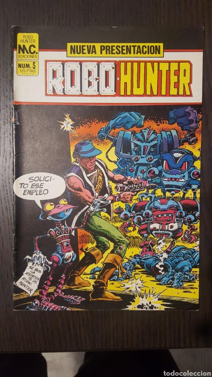 Cómics: Comics - Robo Hunter - ZINCO - 1984 (5 CÓMICS) - Cazador de robots - 1986 (9 números) - MC Ediciones - Foto 11 - 222040162