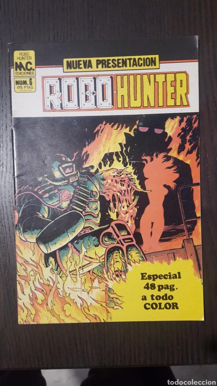 Cómics: Comics - Robo Hunter - ZINCO - 1984 (5 CÓMICS) - Cazador de robots - 1986 (9 números) - MC Ediciones - Foto 12 - 222040162