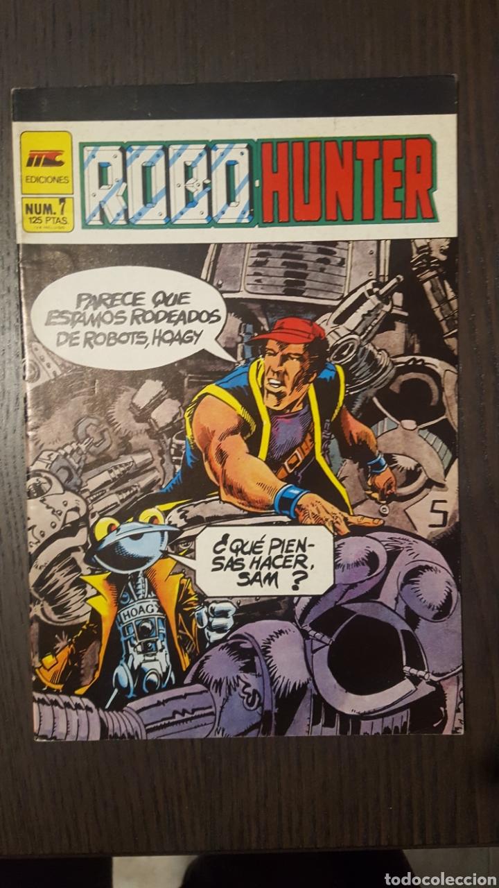 Cómics: Comics - Robo Hunter - ZINCO - 1984 (5 CÓMICS) - Cazador de robots - 1986 (9 números) - MC Ediciones - Foto 13 - 222040162