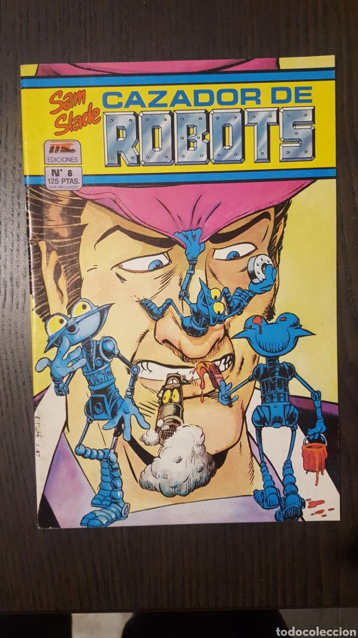 Cómics: Comics - Robo Hunter - ZINCO - 1984 (5 CÓMICS) - Cazador de robots - 1986 (9 números) - MC Ediciones - Foto 14 - 222040162