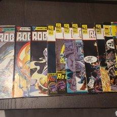 Cómics: COMICS - ROBO HUNTER - ZINCO - 1984 (5 CÓMICS) - CAZADOR DE ROBOTS - 1986 (9 NÚMEROS) - MC EDICIONES. Lote 222040162