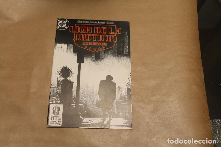 LIGA DE LA JUSTICIA DE AMERICA Nº 21, EDICIONES ZINCO (Tebeos y Comics - Zinco - Liga de la Justicia)
