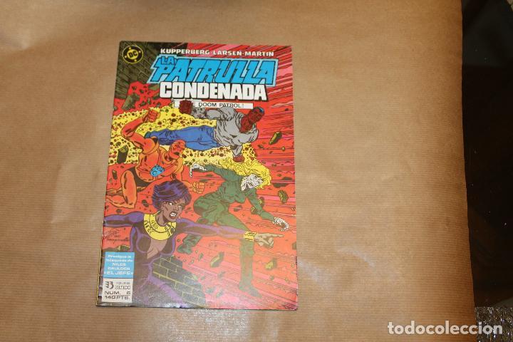 LA PATRULLA CONDENADA Nº 6, EDICIONES ZINCO (Tebeos y Comics - Zinco - Patrulla Condenada)