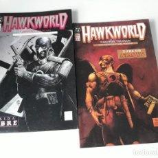 Cómics: HAWKWORLD LIBROS UNO Y DOS (DE TRES) - TIMOTHY TRUMAN. Lote 222071376