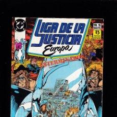 Cómics: LIGA DE LA JUSTICIA EUROPA - Nº 16 DE 36 - EXTERMINADOS - 1991 - ZINCO S.A -. Lote 222075383