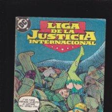 Cómics: LIGA DE LA JUSTICIA INTERNACIONAL - Nº 18 DE 54 - 1988 - ZINCO S.A -. Lote 222076272