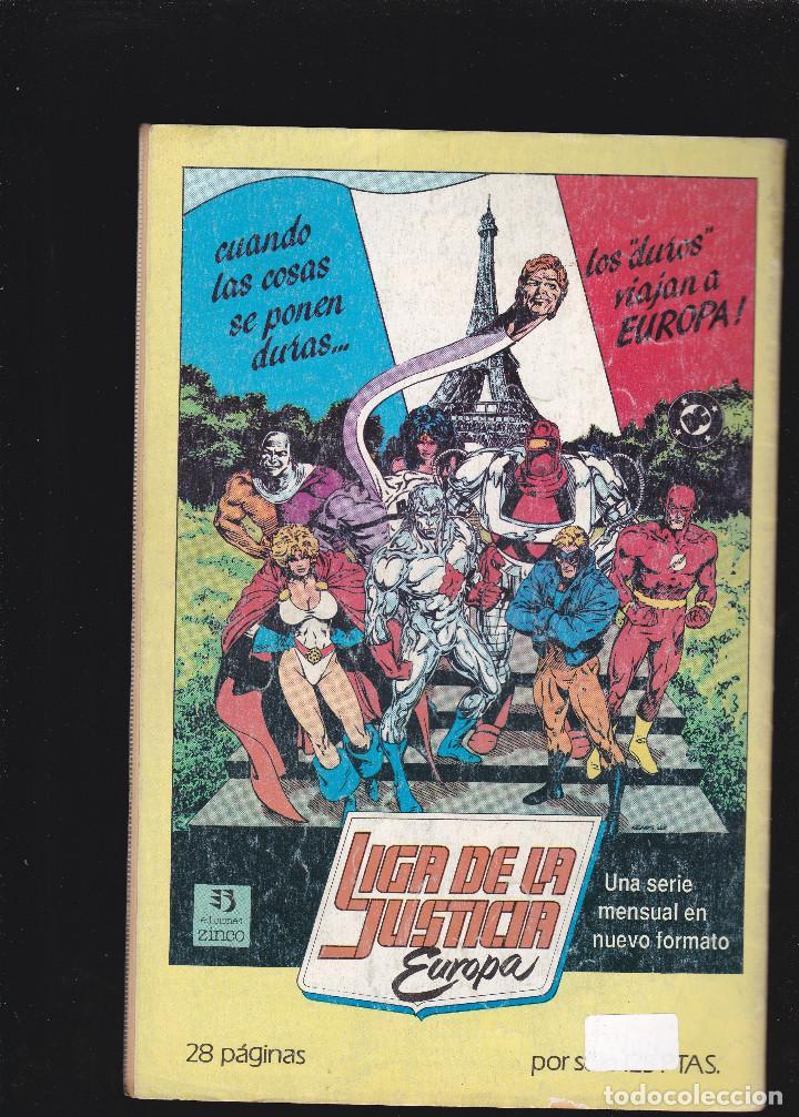 Cómics: LIGA DE LA JUSTICIA INTERNACIONAL - nº 18 de 54 - 1988 - ZINCO S.A - - Foto 2 - 222076272