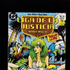 Cómics: LIGA DE LA JUSTICIA AMERICA - Nº 28 DE 54 - 1988 - 1993 - ZINCO S.A -. Lote 222076738