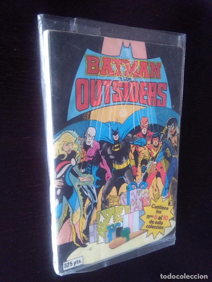BATMAN Y LOS OUTSIDERS 6-7-8-9-10 ZINCO (Tebeos y Comics - Zinco - Batman)