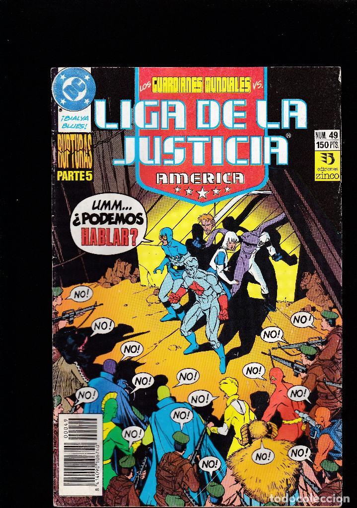 LIGA DE LA JUSTICIA AMERICA - Nº 49 DE 54 - 1988 1993 - ZINCO S.A - (Tebeos y Comics - Zinco - Otros)