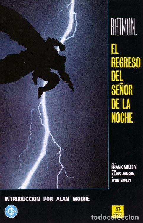 BATMAN - EL REGRESO DEL SEÑOR DE LA NOCHE - EDICIONES ZINCO - 1998 - RUSTICA (Tebeos y Comics - Zinco - Batman)