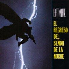 Cómics: BATMAN - EL REGRESO DEL SEÑOR DE LA NOCHE - EDICIONES ZINCO - 1998 - RUSTICA. Lote 222083290