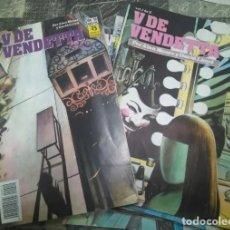 Cómics: V DE VENDETTA COLECCIÓN COMPLETA 10 NÚMEROS I AL X EDICIONES ZINCO. Lote 222113948