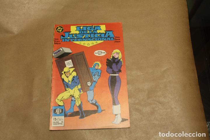 LIGA DE LA JUSTICIA INTERNACIONAL Nº 8, EDICIONES ZINCO (Tebeos y Comics - Zinco - Liga de la Justicia)