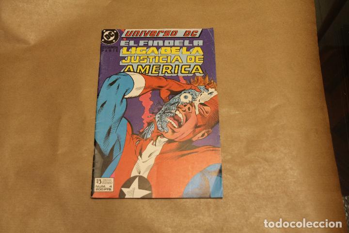 LIGA DE LA JUSTICIA AMERICA Nº 4, EDICIONES ZINCO (Tebeos y Comics - Zinco - Liga de la Justicia)