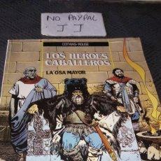 Cómics: VER FOTOS PQÑA RASTRO DE HUMEDAD PARTE SUPERIOR LOS HEROES CABALLEROS LA OSA MAYOR EDICIONES ZINCO. Lote 222144721