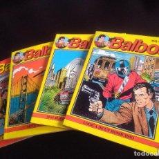 Cómics: BALBOA NUMEROS 1-2-3-4 ZINCO. Lote 222163943