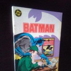 Cómics: BATMAN NUMERO 10 ZINCO - 1987. Lote 222165282