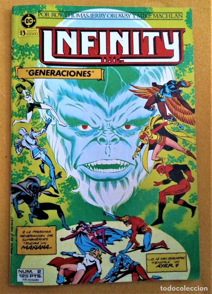 INFINITY Nº 2 - GENERACIONES - EDICIONES ZINCO (Tebeos y Comics - Zinco - Infinity Inc)