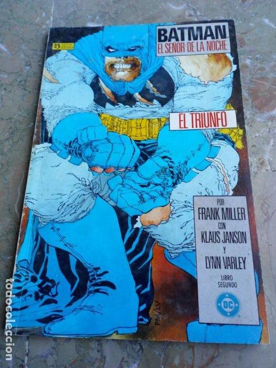 BATMAN EL SEÑOR DE LA NOCHE 2 EL TRIUNFO ZINCO (Tebeos y Comics - Zinco - Batman)