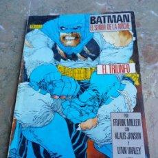 Cómics: BATMAN EL SEÑOR DE LA NOCHE 2 EL TRIUNFO ZINCO. Lote 222272643