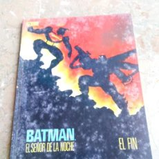 Cómics: BATMAN EL SEÑOR DE LA NOCHE 4 EL FIN ZINCO. Lote 222273508