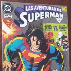 Cómics: COMIC DE LAS AVENTURAS DE SUPERMAN DE EDITORIAL ZINCO.. Lote 222279277