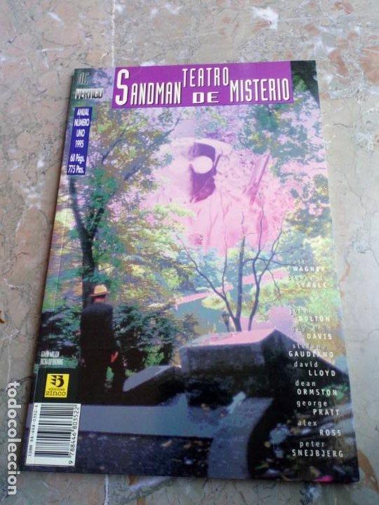 SANDMAN TEATRO DE MISTERIO ANUAL Nº 1 ZINCO (Tebeos y Comics - Zinco - Prestiges y Tomos)