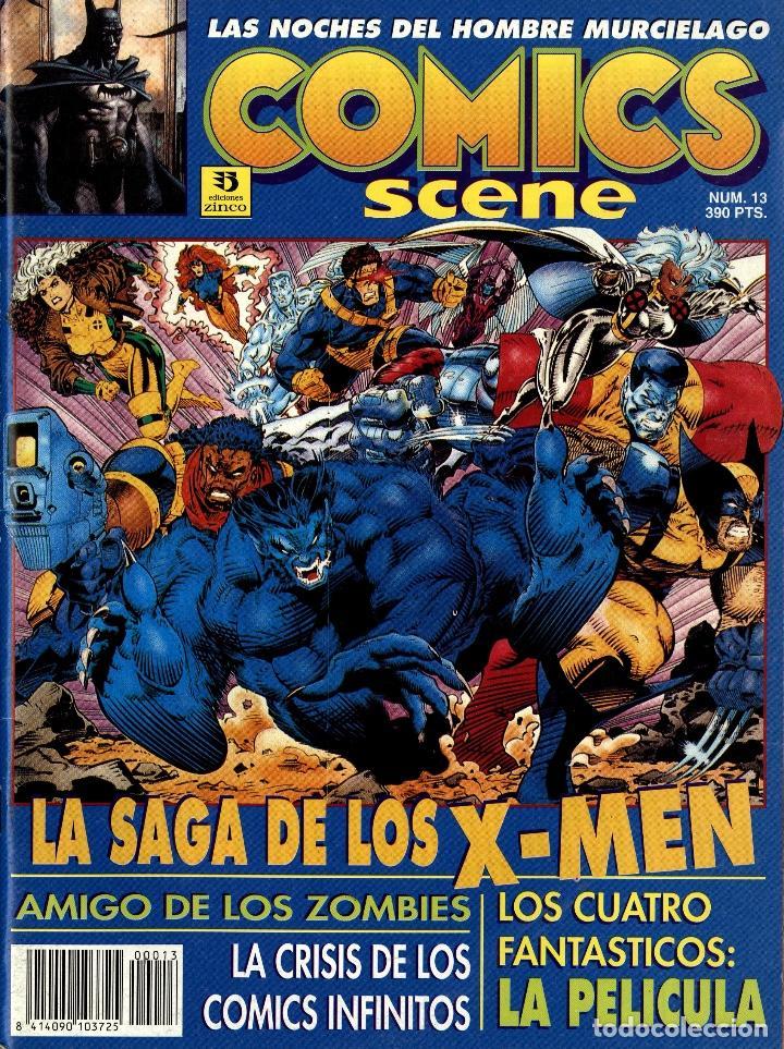 COMICS SCENE 13-14 (ZINCO, SETIEMBRE Y DICIEMBRE DE1993) (Tebeos y Comics - Zinco - Otros)