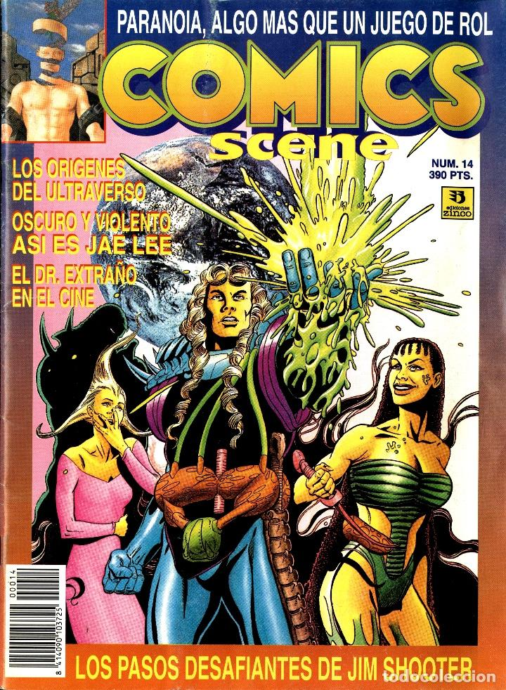 Cómics: COMICS SCENE 13-14 (ZINCO, SETIEMBRE Y DICIEMBRE DE1993) - Foto 2 - 222390490