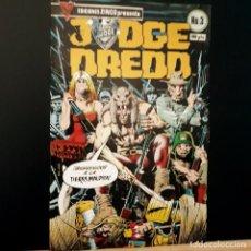 Cómics: JUDGE DREDD Nº 3 EDICIONES ZINCO PRESENTA. Lote 222466821