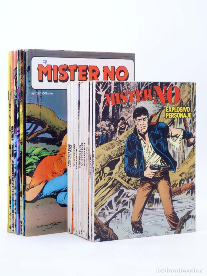 Cómics: MISTER NO 1 A 17. COMPLETA (G. Nolitta) Zinco, 1982. BONELLI. OFRT - Foto 3 - 271417903