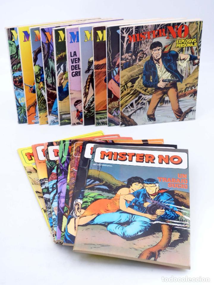 MISTER NO 1 A 17. COMPLETA (G. NOLITTA) ZINCO, 1982. BONELLI. OFRT (Tebeos y Comics - Zinco - Otros)