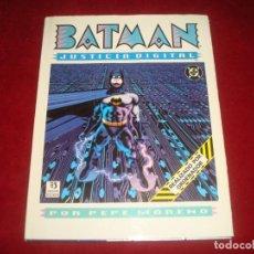 Cómics: BATMAN JUSTICIA DIGITAL POR PEPE MORENO REALIZADO POR ORDENADOR EDICIONES ZINCO. Lote 222496265