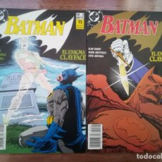 Cómics: BATMAN. EL ENIGMA CLAYFACE. DC ZINCO. COMPLETA. Lote 222616147