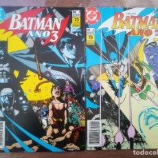 Cómics: BATMAN. AÑO 3. DC ZINCO. COMPLETA. Lote 222616847