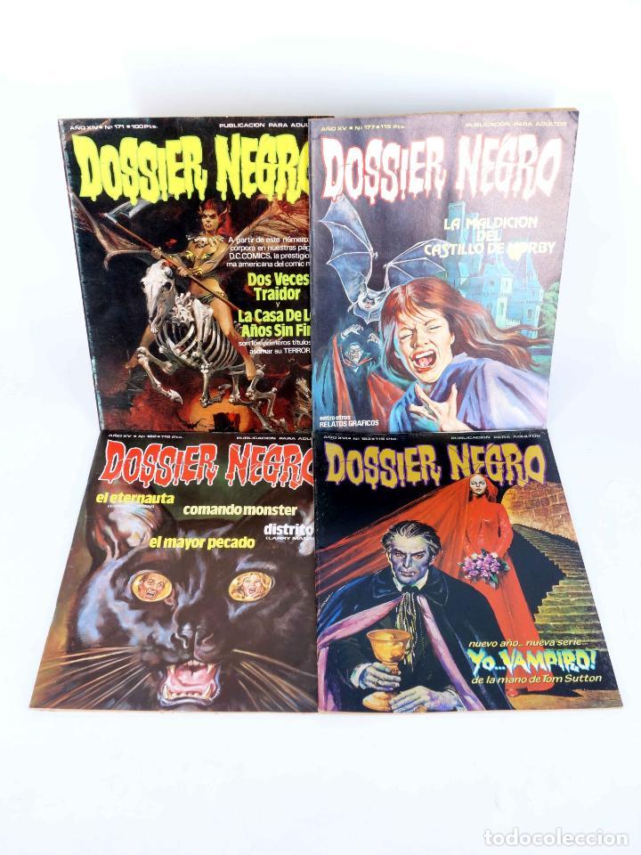 Cómics: DOSSIER NEGRO. LOTE DE 13 (Vvaa) Zinco / Giesa, 1983. VER LISTA. OFRT - Foto 2 - 268973264