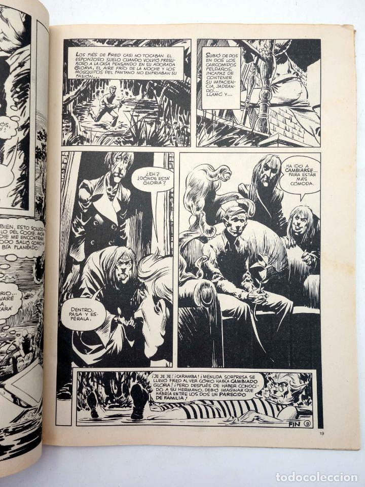 Cómics: DOSSIER NEGRO. LOTE DE 13 (Vvaa) Zinco / Giesa, 1983. VER LISTA. OFRT - Foto 6 - 268973264