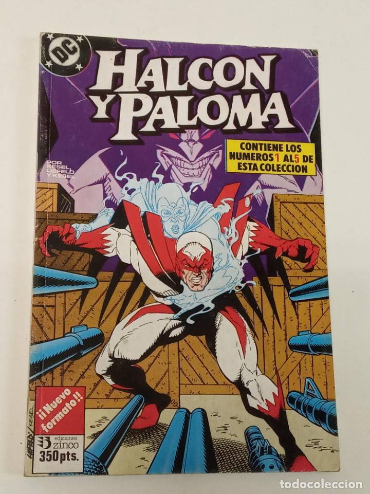 HALCÓN Y PALOMA / RETADO CON LOS NÚMEROS DEL 1 AL 5 / ZINCO (Tebeos y Comics - Zinco - Infinity Inc)