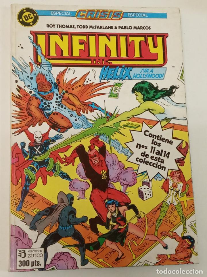 INFINITY / RETAPADO CON LOS NÚMEROS DEL 11 AL 14 / ZINCO (Tebeos y Comics - Zinco - Infinity Inc)