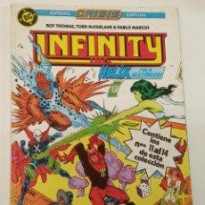 Comics : INFINITY / RETAPADO CON LOS NÚMEROS DEL 11 AL 14 / ZINCO. Lote 222736050