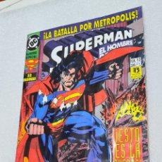 Cómics: SUPERMAN. EL HOMBRE DE ACERO. NUMERO 13. Lote 223144242