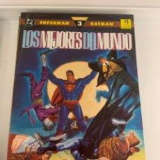 Cómics: SUPERMAN & BATMAN : LOS MEJORES DEL MUNDI. Lote 223269222