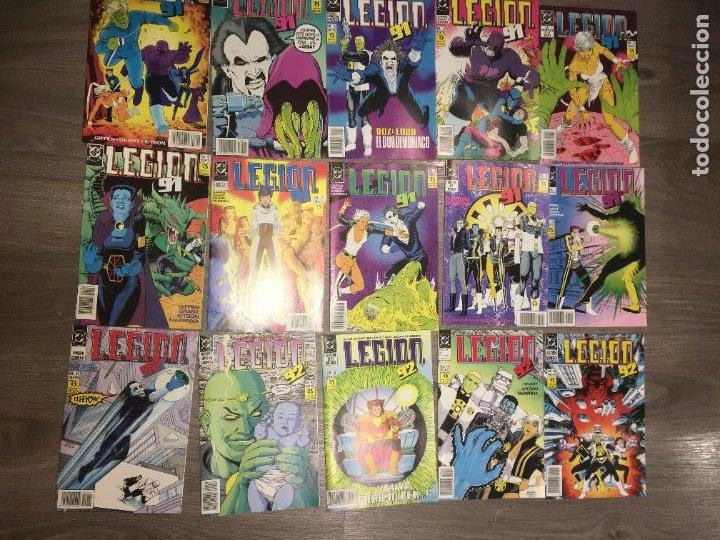 Cómics: Lote 15 ejemplares legion 91, del 1 al 15. bien conservados. ediciones zinco. fotos - Foto 2 - 223321826