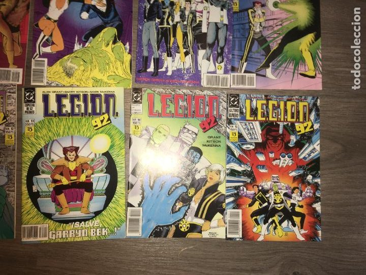 Cómics: Lote 15 ejemplares legion 91, del 1 al 15. bien conservados. ediciones zinco. fotos - Foto 7 - 223321826