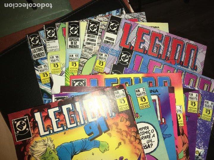 Cómics: Lote 15 ejemplares legion 91, del 1 al 15. bien conservados. ediciones zinco. fotos - Foto 11 - 223321826