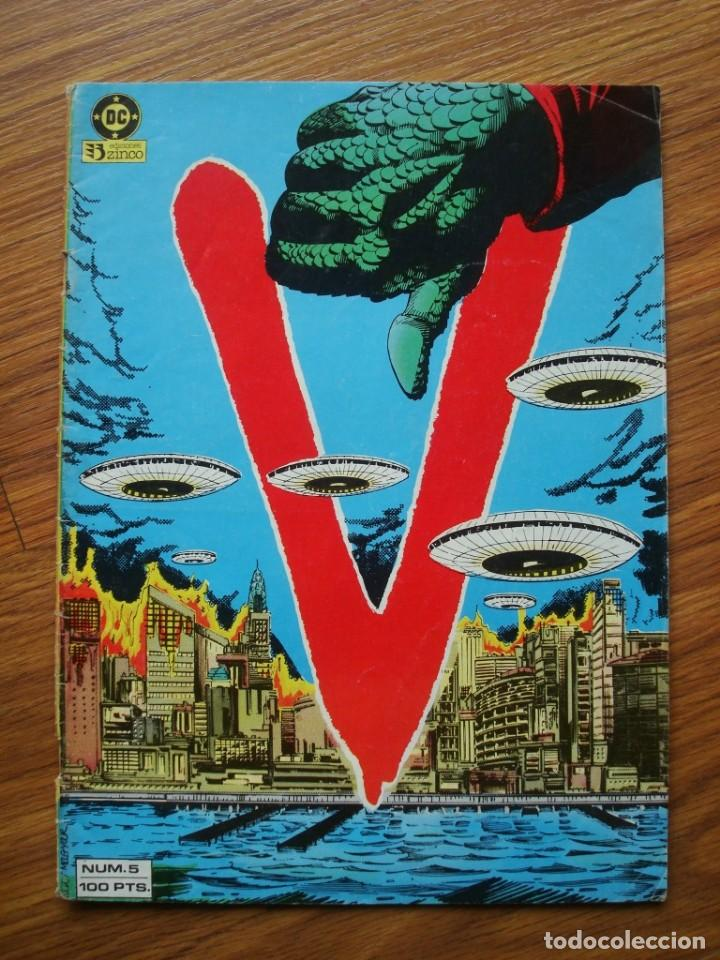 V Nº 5 (LOS VISITANTES) ZINCO (Tebeos y Comics - Zinco - Otros)